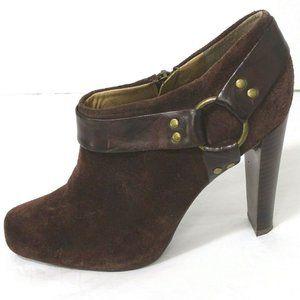Jessica Simpson Ankle Bootie Heels Kianna Size 7.5